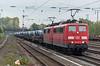 DB 151-037 + 151-153 Dusseldorf Rath 13 October 2017