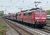 DB 151-061 + 151-132 Dusseldorf Rath 11 October 2017