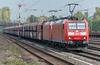 DB 185-180 + 185-167 Dusseldorf Rath 13 October 2017
