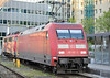 Stabled at Munchen Hauptbahnhof on 15 April 2011 is DB 101.107