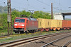 Time for a couple of southbound container services - DB 152.128 approaches Retzbach-Zellingen on 19 April 2011 .....