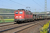 Good to see some of the old order about - DB 139.262 approaches Retzbach-Zellingen on 19 April 2011
