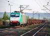 Angel Trains E186.243 at Himmelstadt on 20 April 2011