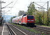 DB 146.240 pushes through Himmelstadt on 20 April 2011