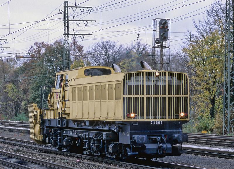 DB 716-001 Munchen Pasing 30 October 2008