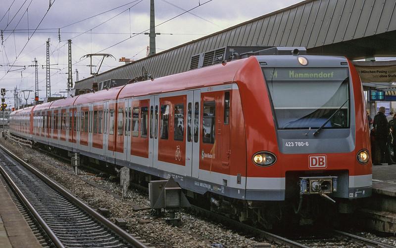 DB 423-780 Munchen Pasing 30 October 2008