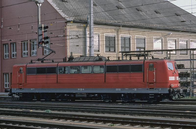 DB 151-170 Linz 27 October 2008