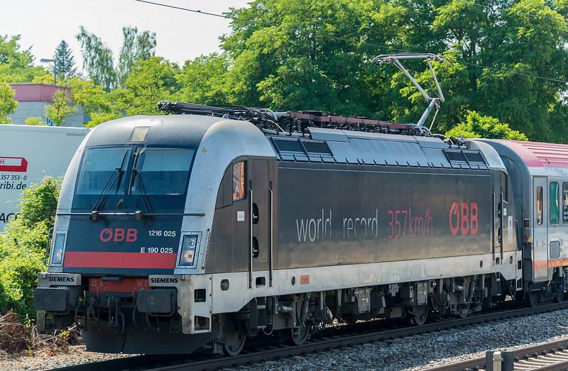 OBB 1216-025  M. Trudering 25 June 2019
