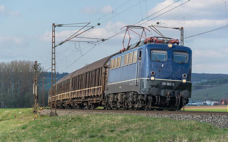 BayernBahn 110-262 with DGS 59971 Langenfeld - Gunzenhausen