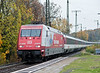 DB 101-089 heads south with EC101 for Chur