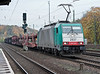 On lease to SNCB and wearing both Belgian number 2837 and 'standard' number 186-229 heading south to Gremberg yard