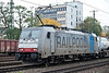 No doubt of the owner - Railpool 186-103 heads north with containers. Under the window is the identification for the current leasing company; the Italians RTC (Rail Traction Company)
