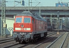 DB 232.230 heads light engine through Hamburg Harburg on its way to the docks on 8 March 2006