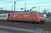 DB 101.112 pauses at Hamburg Harburg with an IC service on 8 March 2006