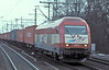 EVB-liveried 'Eurorunner' 420 12 passes through Hamburg Harburg on 6 March 2006