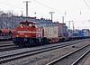 HGK DE93 passes with an intermodal service