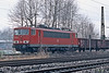 One of the battery of Class 155 locos active in the Ruhr, DB 155.197, passes Oberhausen West on 2 March 2010
