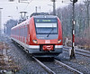 DB 422.567 departs Gelsenkirchen Hbf. with an S2 service for Essen on 2 March 2010