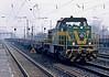 Dortmund Eisenbahn 401 passes Oberhausen Osterfeld Sud on March 2010