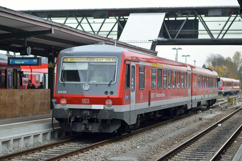 DB 628-626 Muhldorf 23 October 2013