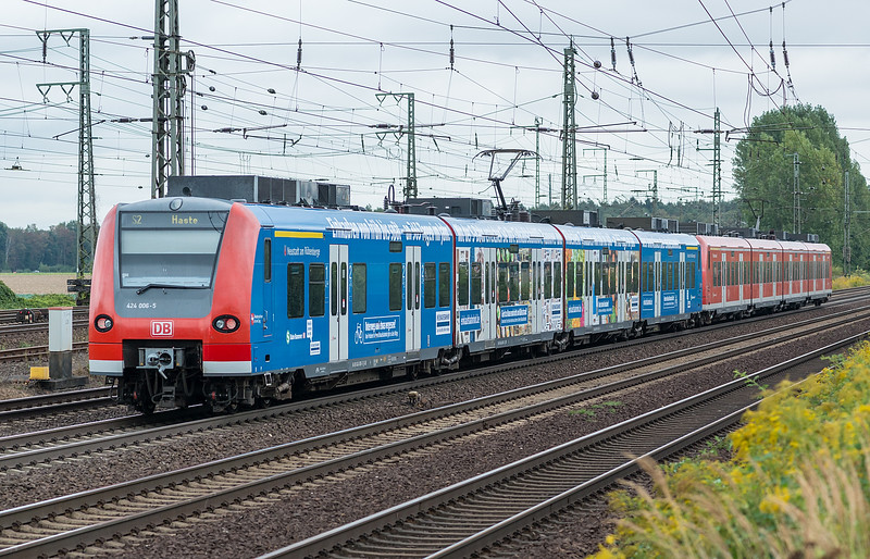 DB 424-006 + 424-007 Wunstorf 13th September 2018