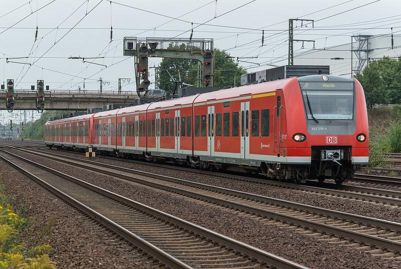 DB 425-278 + 424-033 Wunstorf 12 September 2018