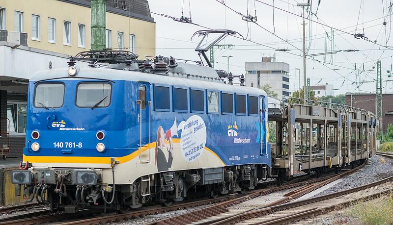 EVB 140-761 Bremen Hbf. 11 September 2018