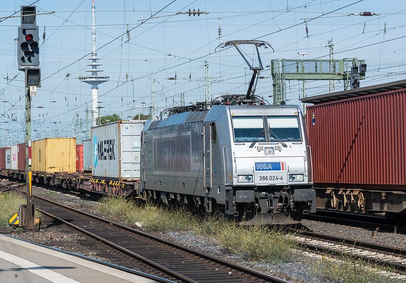 Metrans 386-024 Bremen Hbf. 14th September 2018