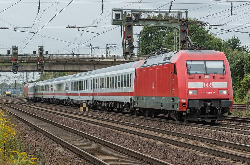 DB 101-003 (+ 101-123 on rear) Wunstorf 13 September 2018