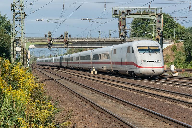 DB 402-017 + 402-008 Wunstorf 12 September 2018