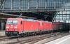DB 185-245 + 185-271 Bremen Hbf. 11 September 2018