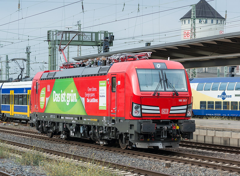DB 193-357 Bremen Hbf. 11 September 2018