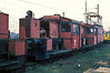 Sitting in the depot yard at Kornwestheim on 29 January 1989 were withdrawn 322.167 and 322.156