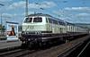 DB 216.189 pulls into Heilbronn on 28 April 1990