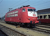 DB 103.115 had recently been painted in the 'New Red' livery when selected to represent the DB at the Austrian 150 exhibition at Wien Nord in 1987