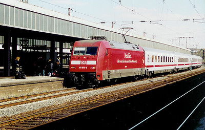 101 075 at Essen HBF on 8th April 2003