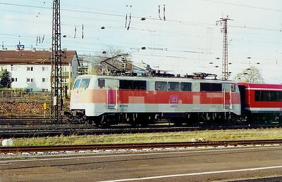 111 177 at Aschaffenburg HBF on 6th April 2003