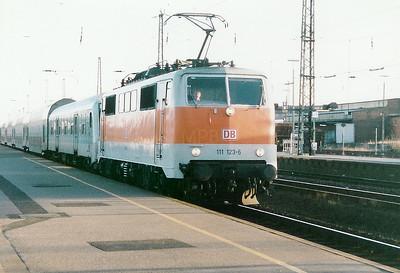 111 123 at Duren on 1st February 1998