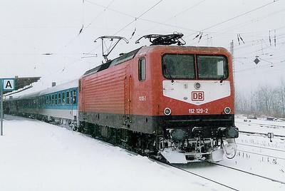 112 129 at Bad Kleinen on 6th December 1998