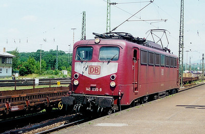 140 855 at Weil am Rhein on 13th June 2002
