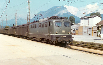 140 003 at Worgl (Austria) on 27th June 1990