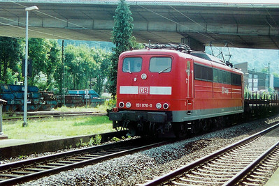 151 070 at Konigswinter on 31st August 2002