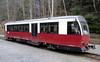 187 015-3, Eisfelder Talmuhle, Thurs 10 February 2011 - 1104.    Prototype diesel-hydraulic railcar built in 1996.  It is working the 1106 Eisfelder Talmuhle - Quedlinburg (53km, due 1325).