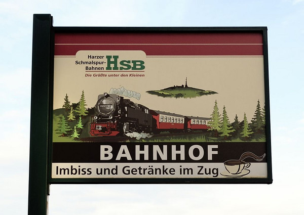 Welcome to the Harzer Schmalspurbahnen (HSB), the Harz narrow gauge railways - 'the biggest of the little lines'!  Nordhausen Nord, Thurs 10 February 2011