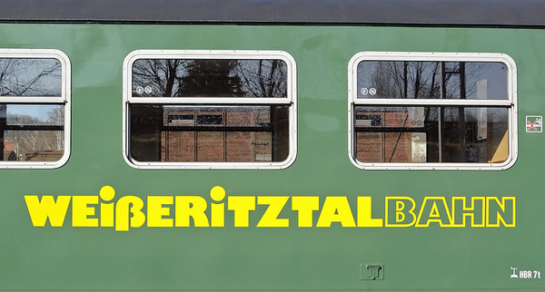 Welcome to the Weisseritztal Rly!  Wed 9 February 2011.  The Weisseritztal is one of seven 75cm gauge lines to have survived in Saxony, in the former East Eermany.  It runs from Freital Hainsberg, west of Dresden, for 16  miles south to Kurort Kipsdorf near the Czech border.  The line was very badly damaged by floods in 2002, which closed it until partial reopening in 2008.  At the time of my visit, trains still ran only to Dippoldiswalde (9 miles).