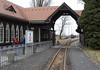Zittau NG station, Tues 8 February 2011.  The modest narrow gauge station adjoins the DB main station.