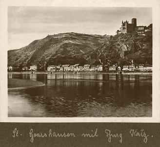 Goarsheim mit Burg Katz