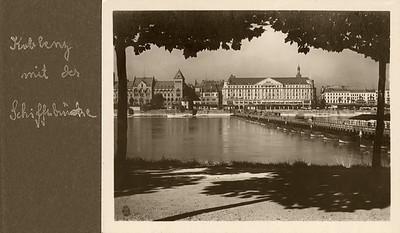 Koblenz mit Schiffsbrücke