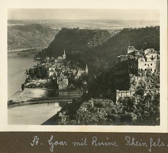 St  Goar mit Ruine Rheinfels
