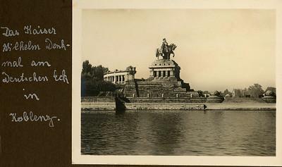 Das Kaiser Wilhelm Denkmal-Koblenz